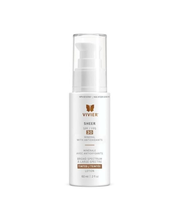 Vivier Sheer SPF 30 Sunscreen with Minerals